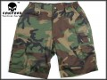 EMERSON BDU Tactical Short Pants (Woodland)