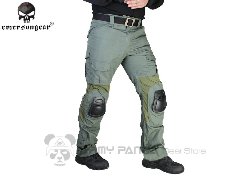 Green Tactical Pants