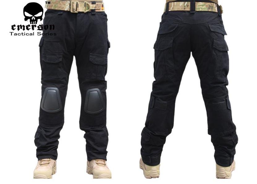 black tactical cargo pants - photo #43