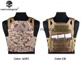 Emerson Jump Plate Carrier - Easy style (AOR1/Coyote Brown)