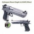Cybergun WE Desert Eagle L6 .50AE GBB Pistol (Sliver)