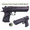 Cybergun WE Desert Eagle L6 .50AE GBB Pistol (Black)
