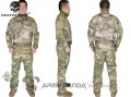 EMERSON Riot Style CAMO Tactical Uniform Set (A-Tacs FG)