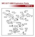 WE G17 GBB Original Parts (Part 2)