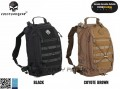 EMERSON Assault Backpack/ Removable Operator Pack (Black/ Coyote Brown)